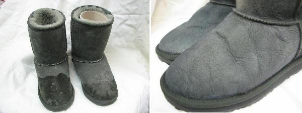 靴底を張り替え